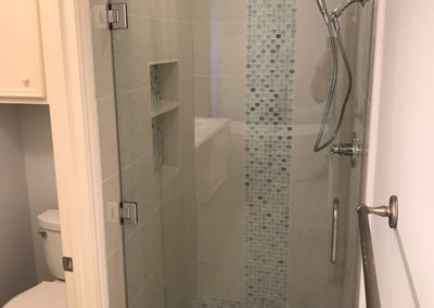 Houston's Rice Military Neighborhood | SHOWER - AFTER