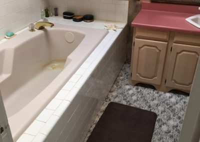 Heights Bathroom Renovation | BEFORE